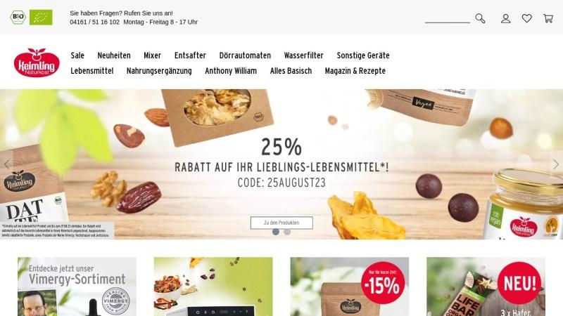 www.keimling.de Vorschau, Keimling Naturkost GmbH