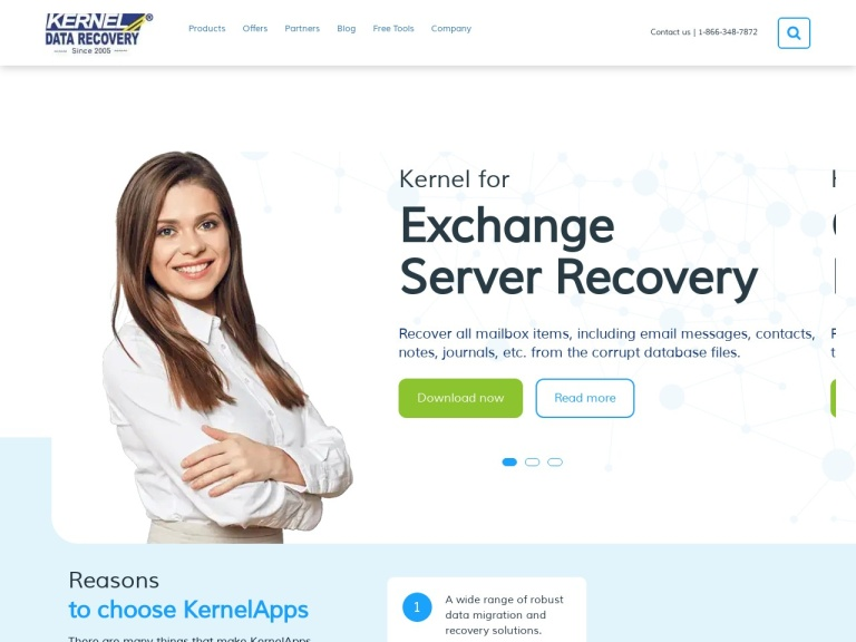 Kernel Data Recovery Coupon Codes screenshot