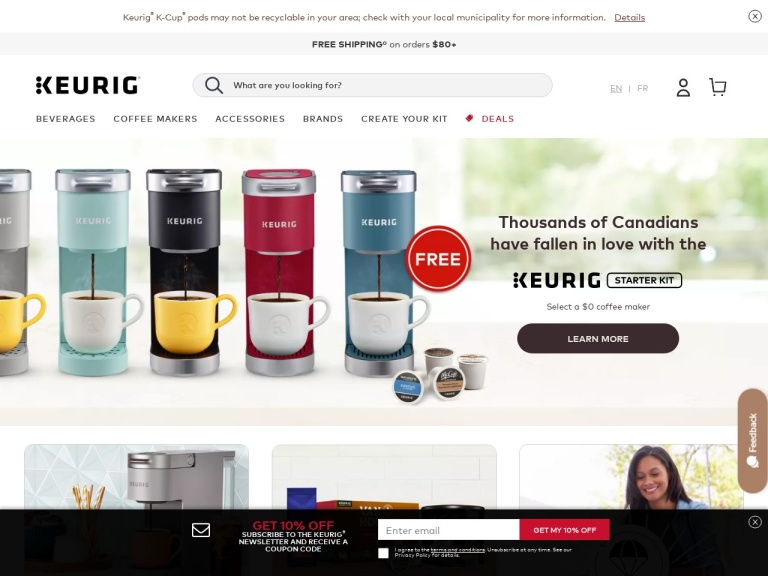 Keurig Canada Coupon Codes
