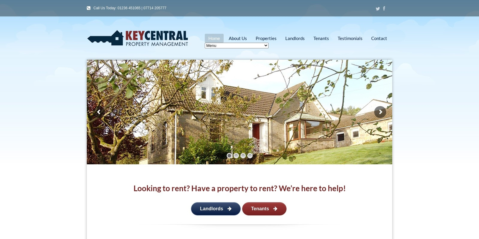 Preview of http://www.keycentral.co.uk