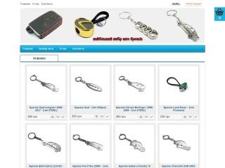 Знімок екрану для keyholders.com.ua
