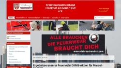 www.kfv-ffm.de Vorschau, Kreisfeuerwehrverband Frankfurt am Main