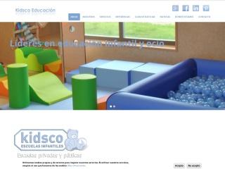 Captura de pantalla para kidsco.es