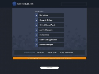 Screenshot for kidsshopusa.com