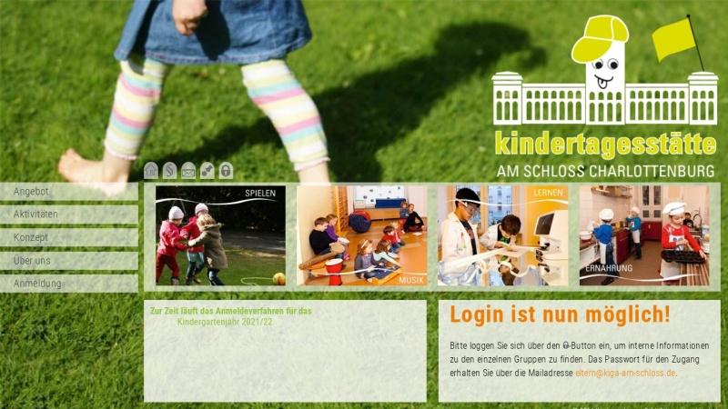 www.kiga-am-schloss.de Vorschau, Kita am Schloss