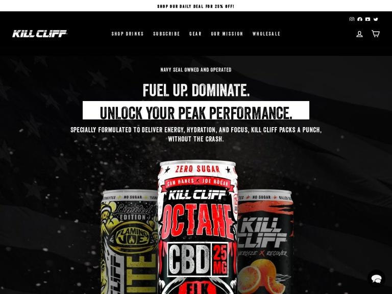 Kill Cliff Coupon Codes