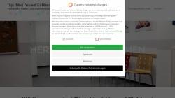www.kinderarzt-elmasri.de Vorschau, Dipl. med. Yousef El-Masri