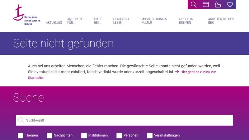 www.kirche-bremen.de Vorschau, Landesverband Kirchlicher Kindertageseinrichtungen
