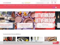 Kitchenandmore.nl screenshot