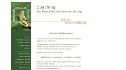 www.kk-coaching-achtsam.de Vorschau, Karin Kronenberg