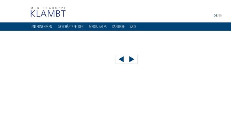 www.klambt.de Vorschau, Klambt-Verlag