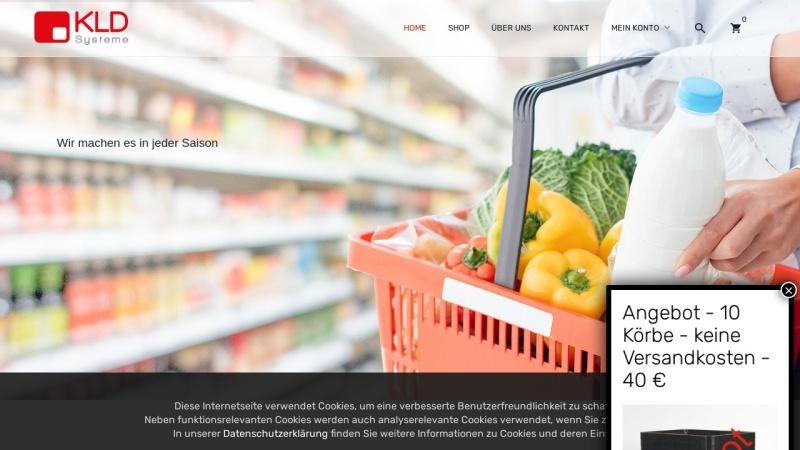 www.kld-shop.de Vorschau, KLD Systeme GmbH - KLD Shop