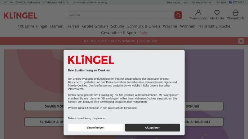 www.klingel.de Vorschau, Robert Klingel GmbH + Co KG