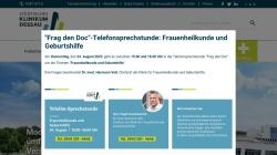 www.klinikum-dessau.de Vorschau, Städtisches Klinikum Dessau