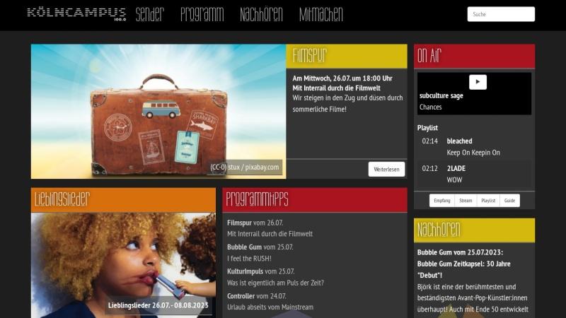 www.koelncampus.com Vorschau, Kölncampus
