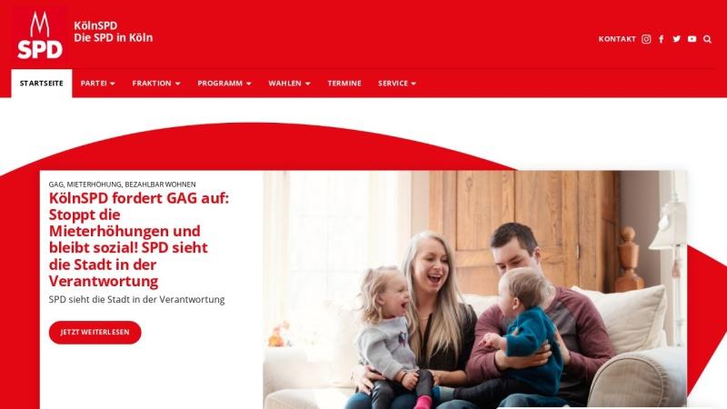 www.koelnspd.de Vorschau, SPD-Unterbezirk Köln