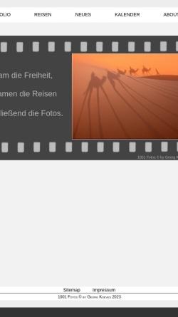 Vorschau der mobilen Webseite www.koeves.mynetcologne.de, 1001 Fotos [Georg Köves]