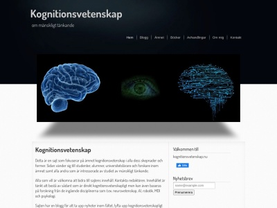 www.kognitionsvetenskap.nu