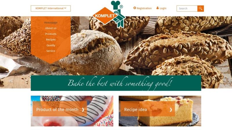www.komplet.com Vorschau, Komplet Bäckereigrundstoffe GmbH & Co. KG