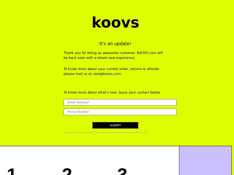 Koovs Coupons screenshot