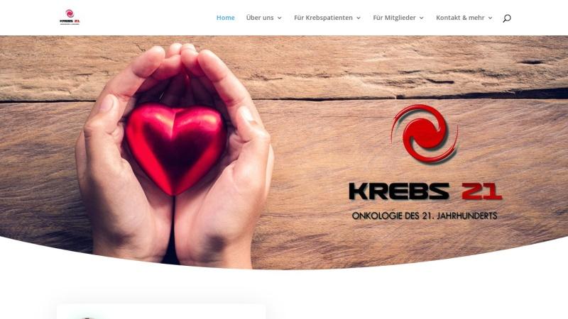 www.krebstherapien.de Vorschau, Menschen gegen Krebs e.V.