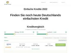 Finden Sie noch heute Deutschlands einfachsten Kredit