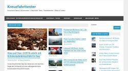 www.kreuzfahrttester.com Vorschau, Der Kreuzfahrttester