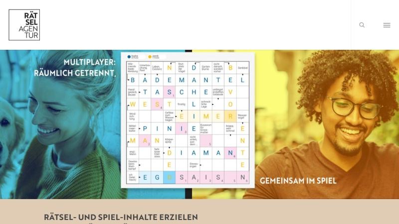 www.kreuzwortraetsel.ch Vorschau, Rätsel Agentur Schweiz
