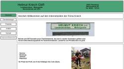 www.kriech-pinneberg.de Vorschau, Helmut Kriech GbR