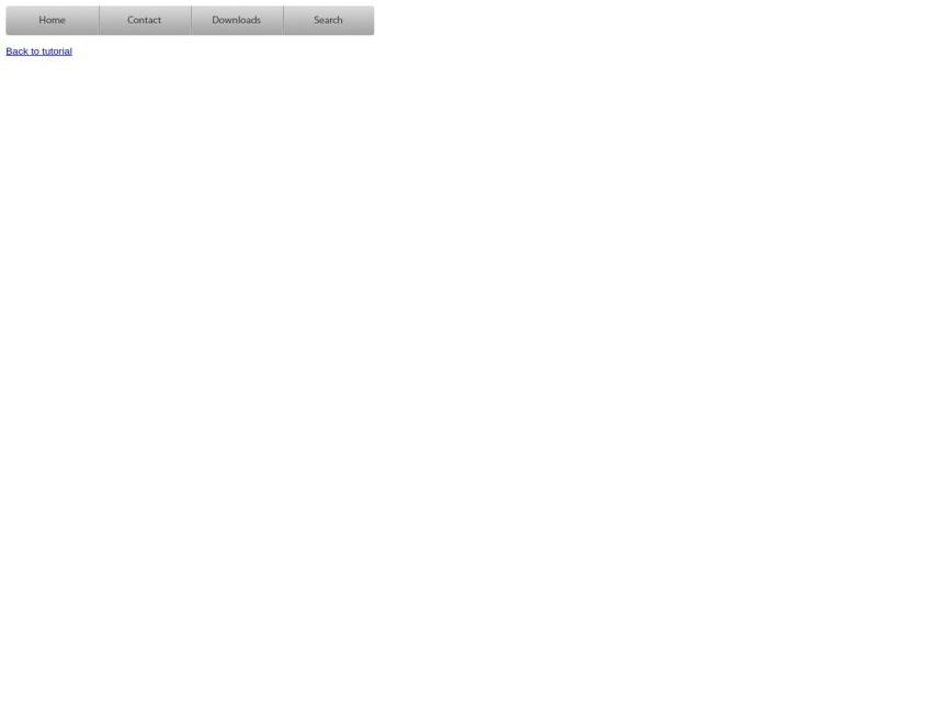 Create an apple style menu and improve it via jQuery