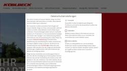 www.kueblbeck.de Vorschau, Küblbeck GmbH & Co. KG