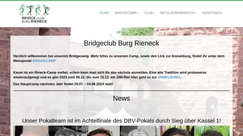 www.kultcamp-rieneck.de Vorschau, Kult-Bridge-Camp Rieneck