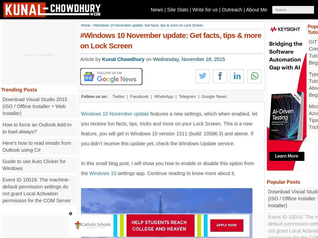 #Windows 10 November update: Get facts, tips & more on …