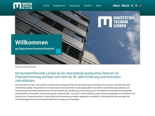 Screenshot der Website kunststofftechnik.at