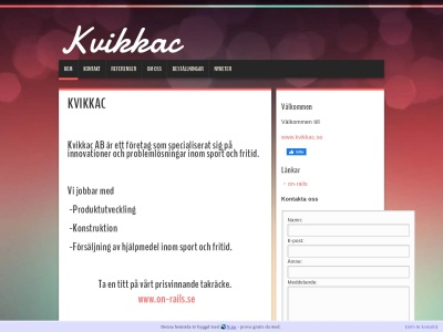 www.kvikkac.se