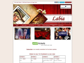 Screenshot for labia.co.za