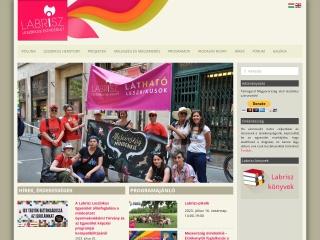 labrisz.hu webhely képe