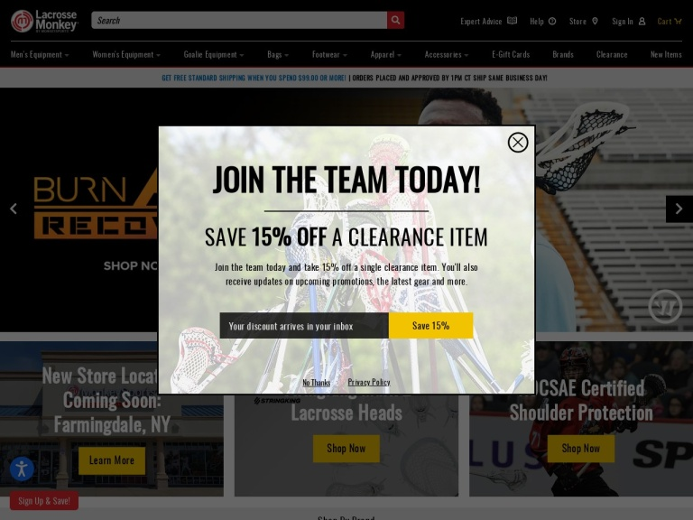 Lacrosse Monkey screenshot