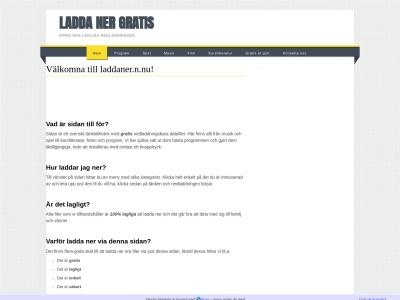 www.laddaner.n.nu