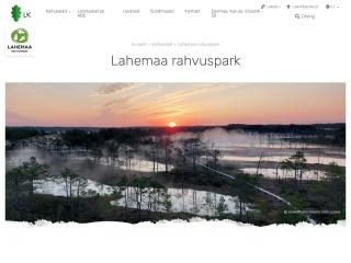 Screenshot for lahemaa.ee