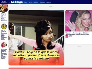 Captura de pantalla para lamega.com.co