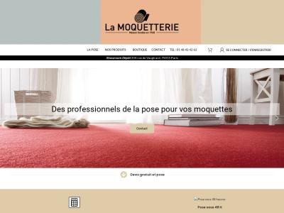 La moquetterie - vente de moquette sur Paris