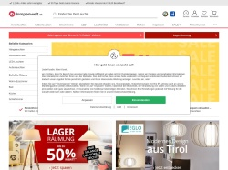 Lampenwelt AT coupon codes April 2018