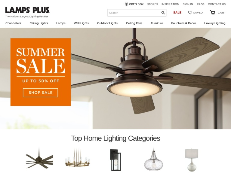LampsPlus.com-Free Shipping on Most Orders at LampsPlus.com!
