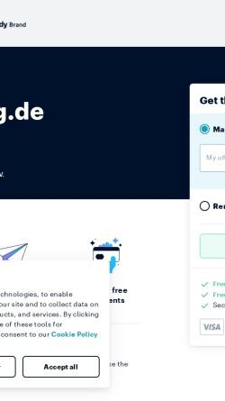 Vorschau der mobilen Webseite www.landesring.de, Landesring Saar e.V. der Jungen Briefmarken-Freunde