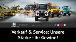 www.landundbau.de Vorschau, Land & Bau Kommunalgeräte GmbH