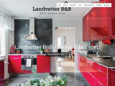 www.landvetterbedandbreakfast.se