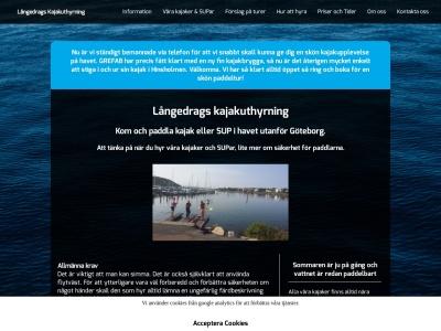 www.langedragskajakuthyrning.n.nu