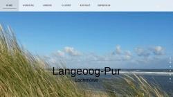 www.langeoog-pur.de Vorschau, Langeoog Pur - Fewo Lachmöwe