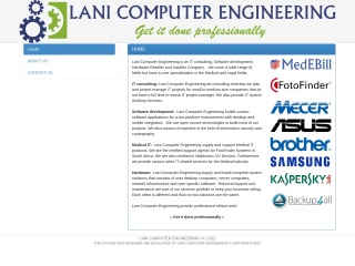 Screenshot for lani.co.za